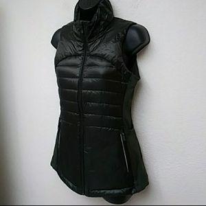 Champion Womens Dark Olive Green Puff Vest